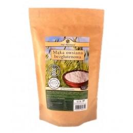 Mąka owsiana bezglut 500g