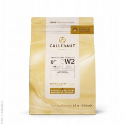 Czekolada biała Callebaut...
