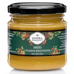Miód z pyłkiem kwiatowym 250g