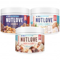 Zestaw NUTLOVE 3 X 500g